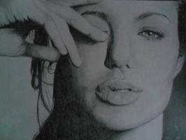 Angelina Jolie by HollyAllen