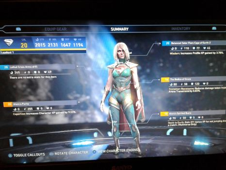 (Updated) Customized Supergirl 3 by Loth-Eth