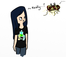 Flying Spaghetti Monster strikes again... by pixel-Inked