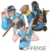 TF2 - Offense by SuperKusoKao