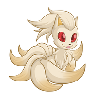 Ninetales by Raetastical