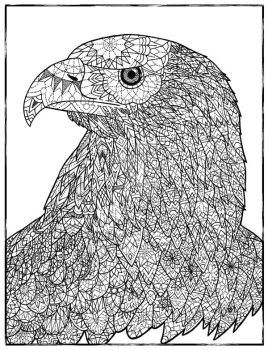 Dotwork Eagle by Lacrymosakma