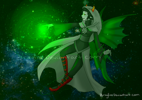 Sylph of Space by Brixyfire