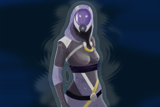 Tali is apparently a biotic now by herabec