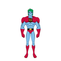 Captain Planet by WhatTheFaucs