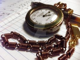 Forged Pocket Watch 1 by dravensinferno