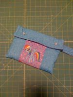 Rainbow Dash iPad mini caring case by SmudgeDragon