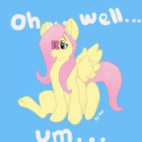 Fluttershy c: by Jacobi-biscuit