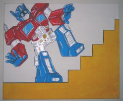 Optimus Capable by MechaDaveO