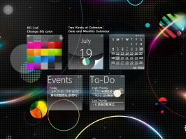 Omnimo Calendar by Mulberry24