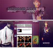 Tumblr Dash 18 -Minho- by Min-Jung