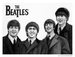 The Beatles by Jon-Snow