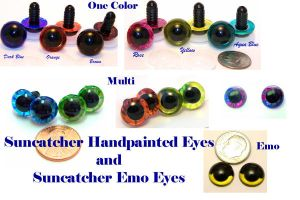 Handpainted Eyes - Colors by ChezMichelle