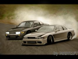 Touge Battle by MRDR1FT
