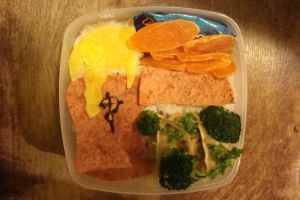Edward Elric Bento by bookadict