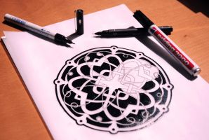 Celtic Knot Sketch by jrsalido218
