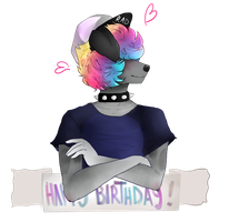 wops happy late b-day! by Skailak