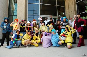 Animefest: Pokemon group