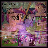 ( MLP ) Foalsitter Princess Cadence Collage by KrazyKari