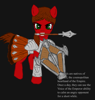 Ponified Skyrim loading screen: Imperial by glue123
