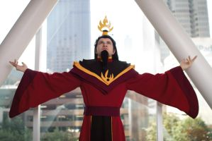 Cosplay: Fire Lord Ozai by SonicRTR