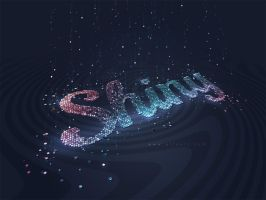 Glitter Text Effect by AlexandraF
