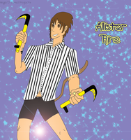 Request: Allister Rire OC. [DONE] by AngieART93