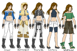 DGM OC- Lys Silverton - outfit reference by AlyssaFoxAH