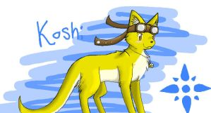 iScribble - Koshi by Angel-soma