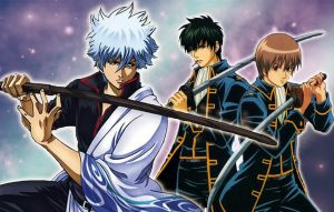 Gintama's swords by Tris-BK