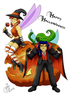 Happy Halloween 2011 by LadyRosse