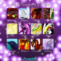 2013 Summary of Art by Seeraphine
