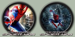 The Amazing Spider-Man Icons by kodiak-caine