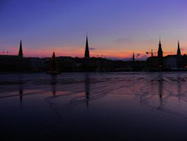 Hamburg in winter by rockmylife
