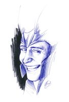 Loki quick sketch by HashtagGenius
