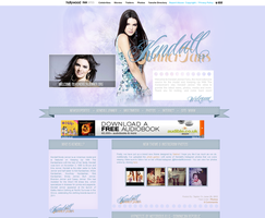 Kendall Jenner Wordpress Theme by unbrokengraphics