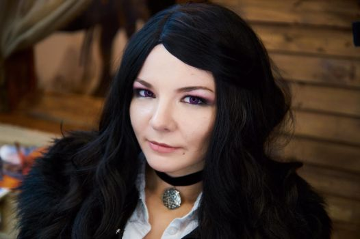 Yennefer cosplay Witcher 3 by Katfromrivia