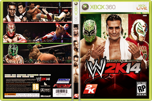 WWE 2K14 Costume Cover - MEXICAN EDITION by xXMAGICxXxPOWERXx