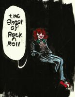 The Ghost of Rock n Roll by jhames34