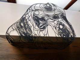 Papercut drying by kristrappeniers