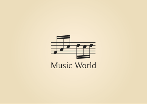 Music World logo by SebDominguez