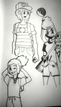 Pokesketches - Gen 7 by ThatOtherGuy19