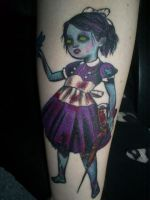Little Sister tattoo by xFloorx