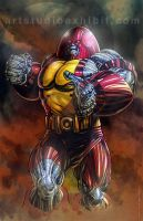 Juggernaut Colossus by artstudio