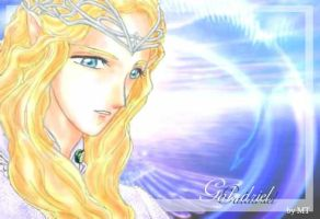 Galadriel in my anime style (color ver.) by fish-in-fridge