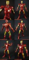 Custom Mark 03 Movie Iron Man by KyleRobinsonCustoms