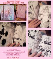 CLAMP Doujinshi .:PRE-ORDERS OPEN:. by Mireielle