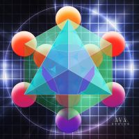 Metatrons Sacred Geometry by AVAdesign