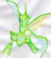 Abstract Light Scyther by UneQuintessence