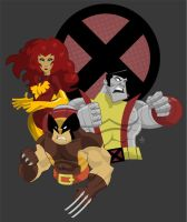 Xmen by ChenUp
